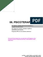 06.PSICOTERAPIAS