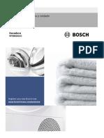 Manual de Secadora Bosh