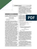 Reglamento Nacional Para La Gestion y Manejo de Los Residuos de Aparatos Electricos y Electronicos