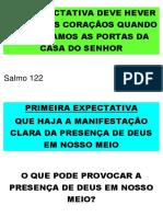Expectatva 1 - A Manifestação Da Presença de Deus