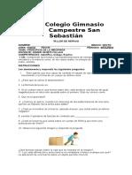 TALLERES DE REPASO II PERIODO DE 6°