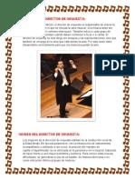 Funciones Del Director de Orquesta