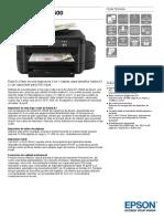 EcoTank ET 16500 Datasheet