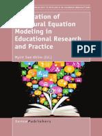 Introducción a Las Ecuaciones Estructurales en AMOS y R - Lara (2014)