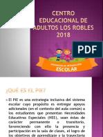 Centro Educacional de Adultos Los Robles Taller Sencibilizacion Estefania