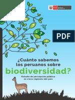 Cuanto Sabemos Los Peruanos Sobre Biodiversidad