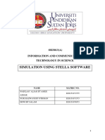 SIMULATION USING STELLA SOFTWARE