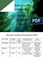 Clase Carragenina Agar Alginatos