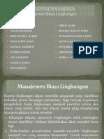 Manajemen Biaya Lingkungan