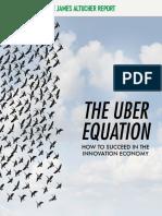 Altucher Report Uber Equation