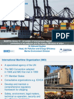 An Update of International Regulatory Developments for Prevention of Air Pollution and the Energy Efficiency of Ships