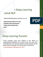 Pengenalan Deep Learning Khusus NLP