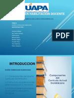 Componentes Del Curriculo