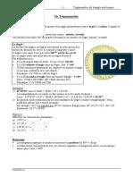 10 Trigonométrie (Triangle Quelconque)