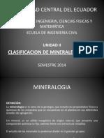 Clasificacion de las rocas
