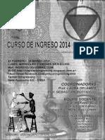 Cuadernillo 2014-Ingreso a La Doc
