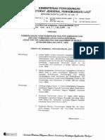 Hk.103.1.18.Djpl-12 Keputusan Dirjen Hubla Tentang Pemberlakuan Code for the Construction and Equipment of Mobile Offshore Drilling Units