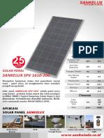 Solar Panel 200 Wp