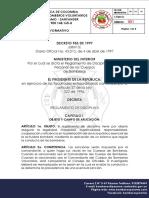 Decreto 953 de 1997