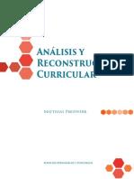 2014 02 Manual Análisis y Reconstrucción Curricular