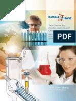 Kimble Catalogue