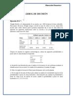 Ejercicio Árbol de Decisión (Resuelto)
