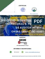 Diplomado Seguridad Industrial