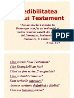LP 5 - Credibilitatea Scripturii