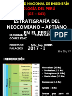 Neocomiano - Aptiano en el Perú.pptx