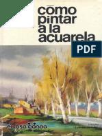 Como Pintar a La Acuarela j m Parramc3b3n