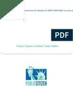 Public CitizenTPPandfasttrackpowerpoint 131010151757 Phpapp02