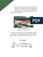 Puente Reticulado Tipo Warren