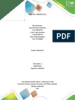 Informe de Laboratorio de Biologia Ambiental