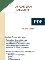 Perancangan Dan Penerapan Sistem