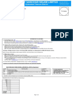 sample telephone bill
