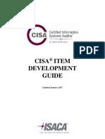 CISA Item Development Guide Bro Eng 0117