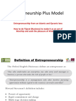 Entrepreneurship Plus Model March 2018 Asad Zaman.pptx