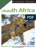 DK Eyewitness Travel Guide South Africa 2017