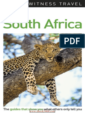DK Eyewitness Travel Guide South Africa 2017   Cape Town   Books