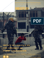 2018 Impact of Violence on Children of JK JKCCS