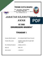 Cover Kejuruteraan Awam(Highway)