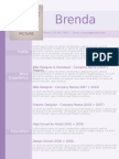 Resume Purple