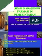 08 Manajemen Kefarmasian Di Sektor Pemerintah