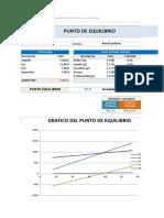 Planilla de Excel de Calculo de Punto de Equilibrio