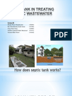 Group 2H - Septic Tank in Treating Domestic Wastewater