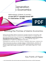 Third Generation Islamic Economics