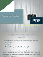 Photograph Analysis