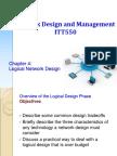 ITT550 - Chapter04 RY-Logical Network Design