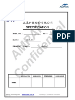 WIFI+BT_AP6210 datasheet_V1 2_12262012 | Bluetooth | Ieee 802 11