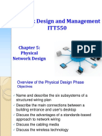 ITT550 - Chapter05-RY-Physical Network Design